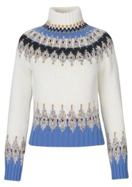 STINE GOYA Justin Jumper - Fair Isle