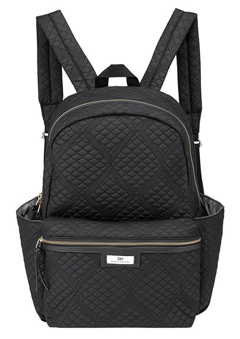 DAY ET Day Gweneth Quilted Topaz Back Pack - Black main image