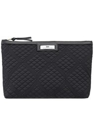 DAY ET Day Gweneth Quilted Topaz Small Bag - Black