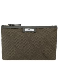 DAY ET Day Gweneth Quilted Topaz Small Bag - Ivy Green