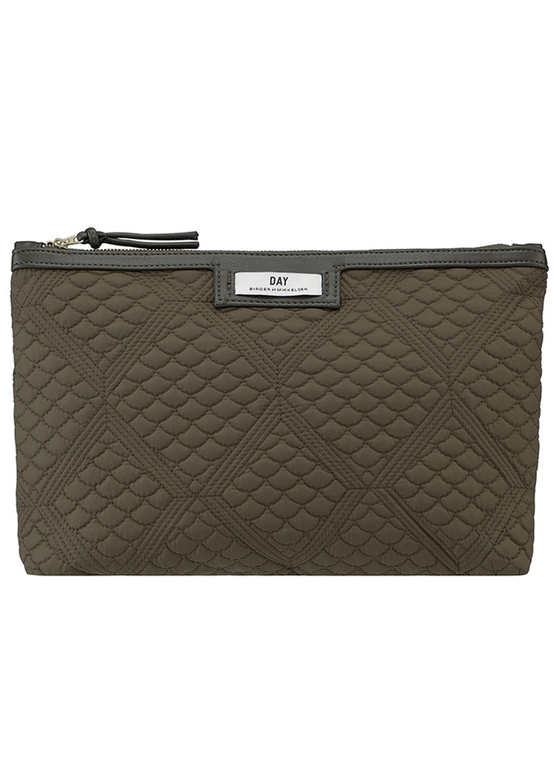 DAY ET Day Gweneth Quilted Topaz Small Bag - Ivy Green  main image