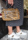 NUNOO Donna Bag - Brown Zebra