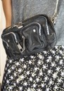 NUNOO Helena Washed Leather Bag - Black