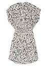 Jaylin Dress - Ivory Cheetah additional image