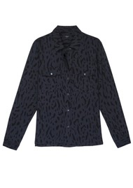 Rails Rhett Shirt - Ash Cheetah