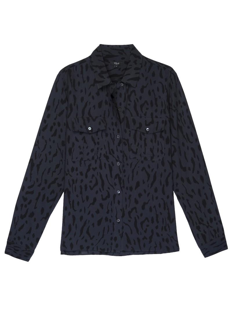 Rails Rhett Shirt - Ash Cheetah main image