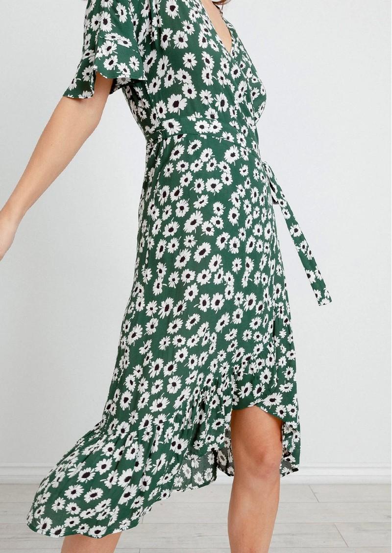 Rails Florence Dress - Green Daisies  main image