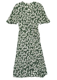 Rails Florence Dress - Green Daisies