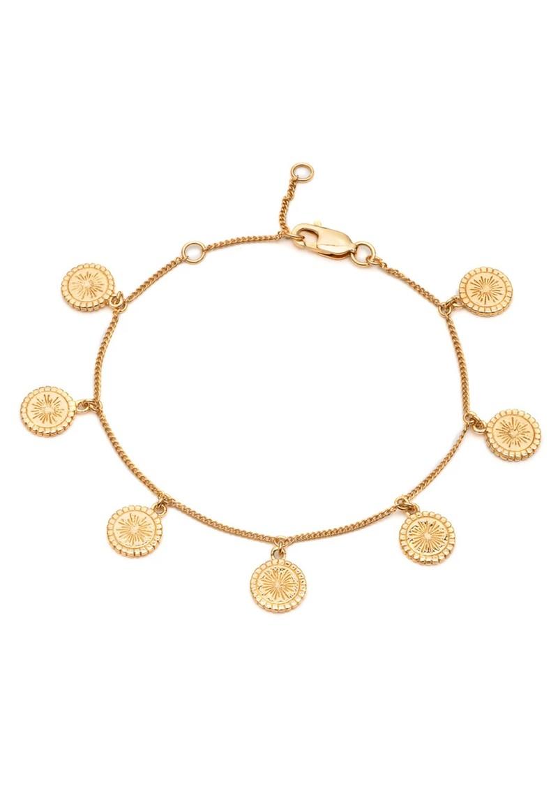 RACHEL JACKSON Eternal Sun Coin Bracelet - Gold main image