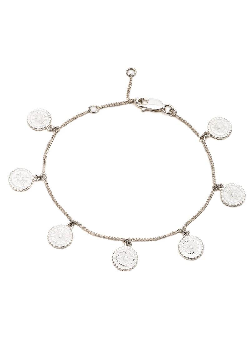 RACHEL JACKSON Eternal Sun Coin Bracelet - Silver main image