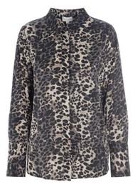 DEA KUDIBAL Chelsea Shirt - Leopard