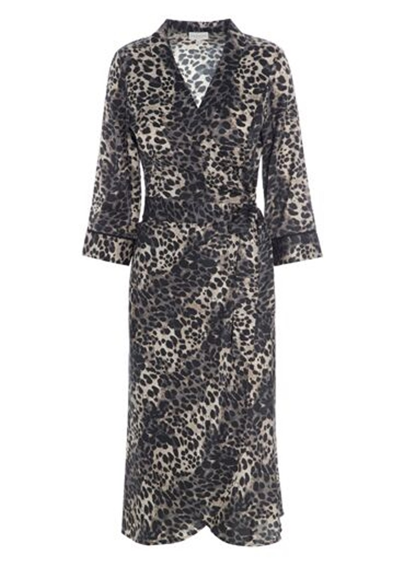 DEA KUDIBAL Wilma Wrap Dress - Leopard main image