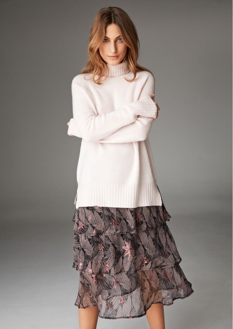 DEA KUDIBAL Ronja Exclusive Skirt - Wings Rose Gold main image