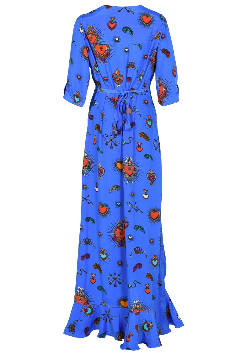 STARDUST  Sweetheart Flamenco Dress - Blue main image