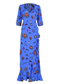 STARDUST  Sweetheart Flamenco Dress - Blue