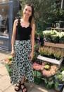 Rails Nova Skirt - Green Daisies
