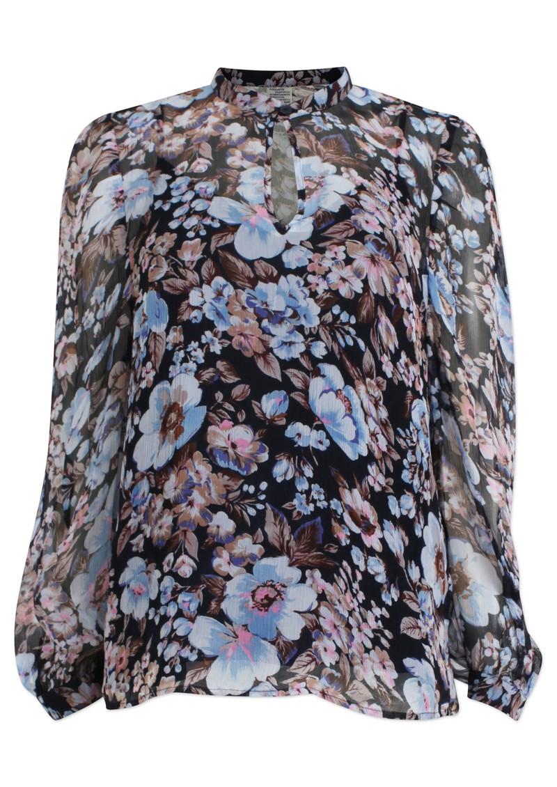 BAUM UND PFERDGARTEN Mertrice Top - Blue Floral main image