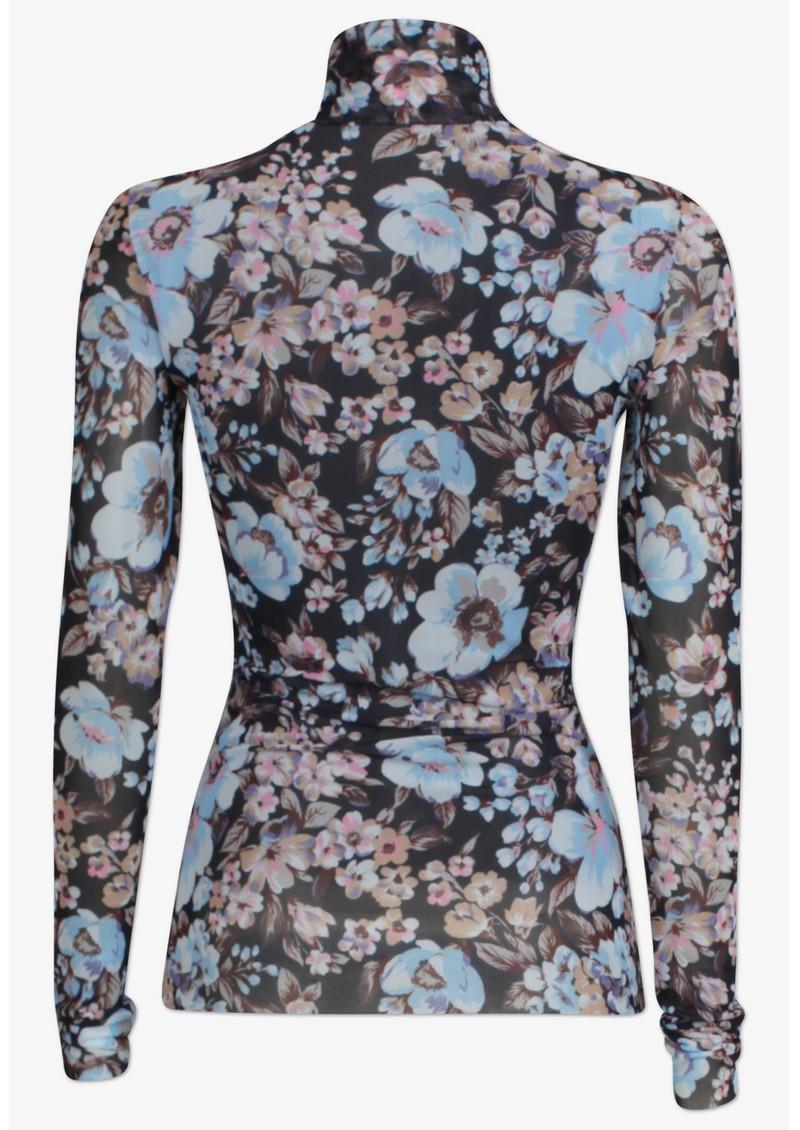BAUM UND PFERDGARTEN Jodi Top - Blue Floral main image