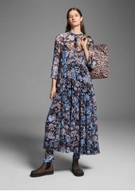 BAUM UND PFERDGARTEN Alexondra Dress - Blue Floral