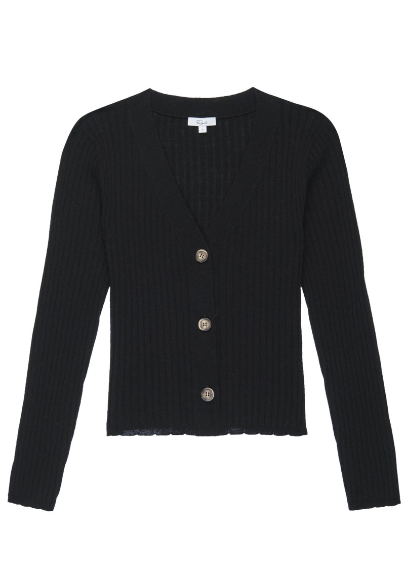 Rails Jase Cardigan - Black main image