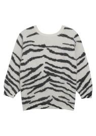 Ba&sh Zaya Zebra Jumper - White