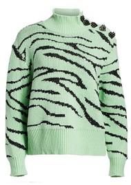 OLIVIA RUBIN Lyla Jumper - Mint Zebra
