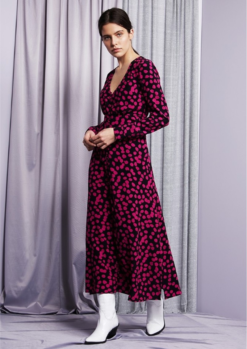 FABIENNE CHAPOT Lewis Dress - Dolly Dots main image
