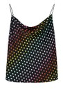 OLIVIA RUBIN Clover Silk Cami Top - Rainbow Dot