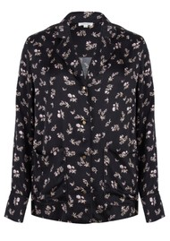 LOVE STORIES Bluemoon Pj Shirt - Black