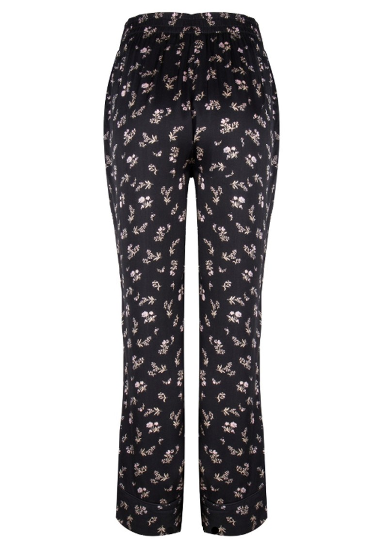 LOVE STORIES Weekend PJ Pants - Black main image