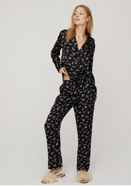 LOVE STORIES Weekend PJ Pants - Black