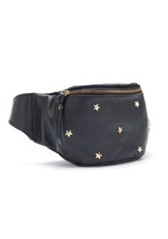 MERCULES Bum Bag With Studded Stars - Black