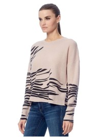 360 SWEATER Molly Cashmere Sweater - Bisque Black