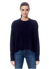 360 SWEATER Makayla Cashmere Sweater - Navy