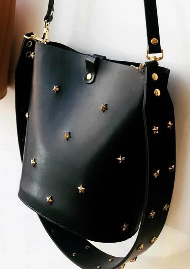 MERCULES Alamo Stars Bucket Bag - Black main image