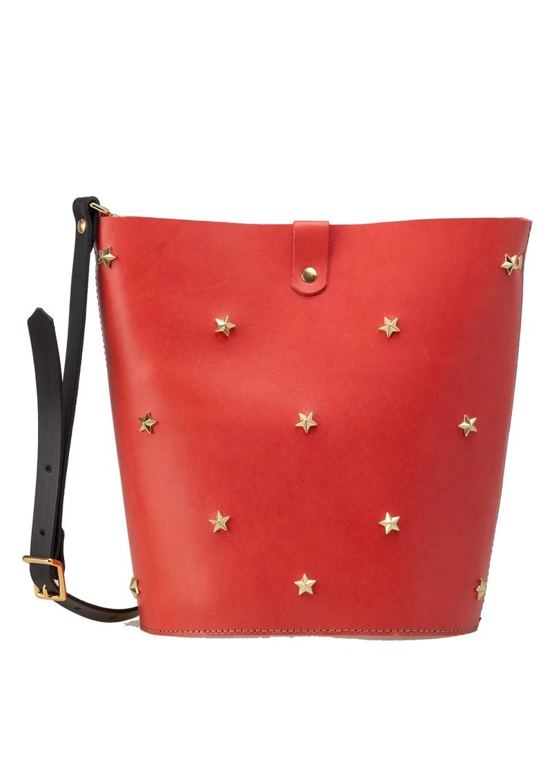 MERCULES Alamo Stars Bucket Bag - Rose main image