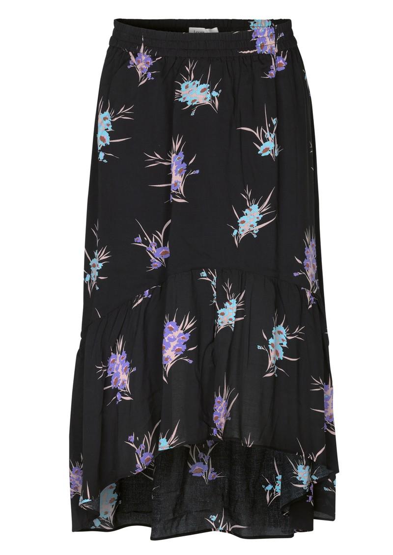 LEVETE ROOM Grita 3 Skirt - Black main image
