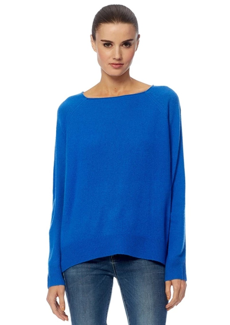 360 SWEATER Jolene Cashmere Jumper - Electric Blue main image
