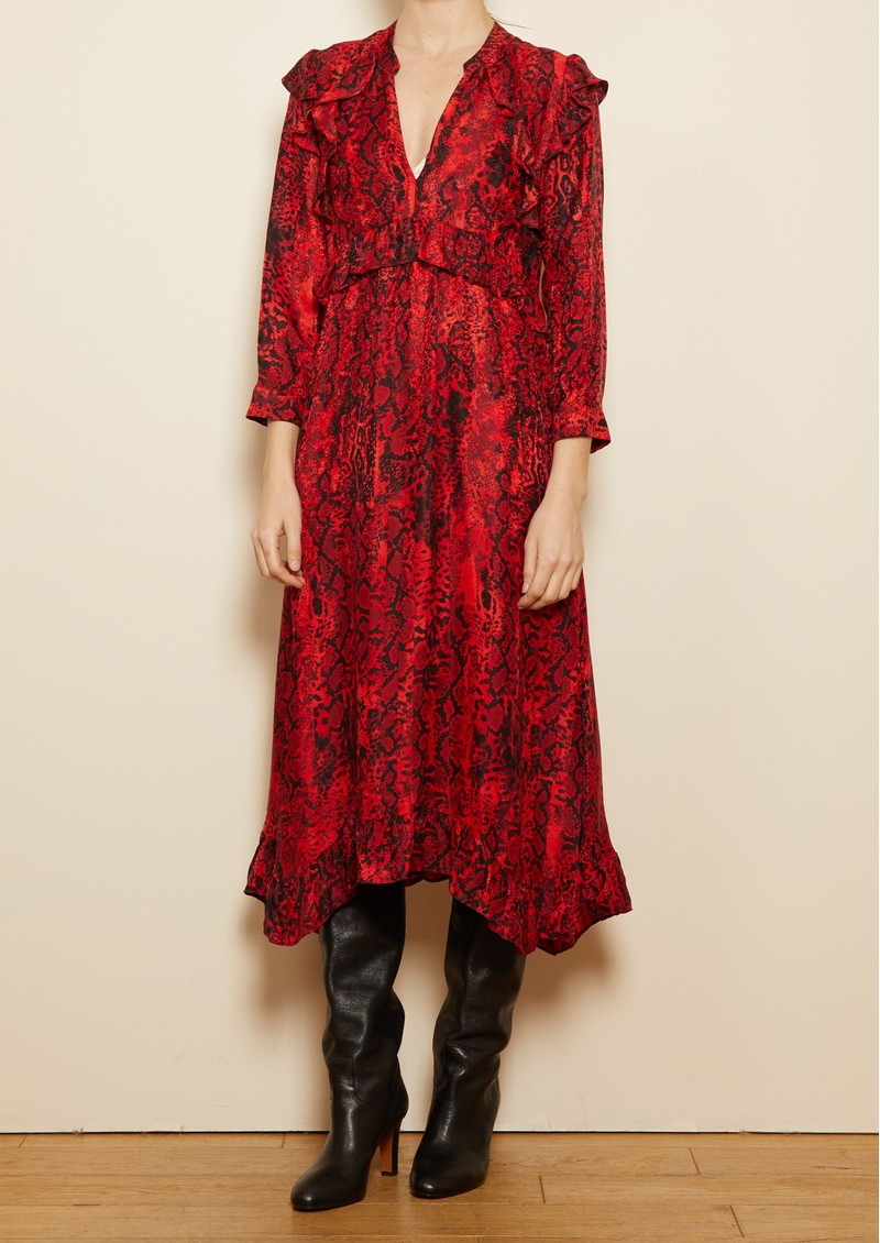 Ba&sh Sahara Dress - Red main image