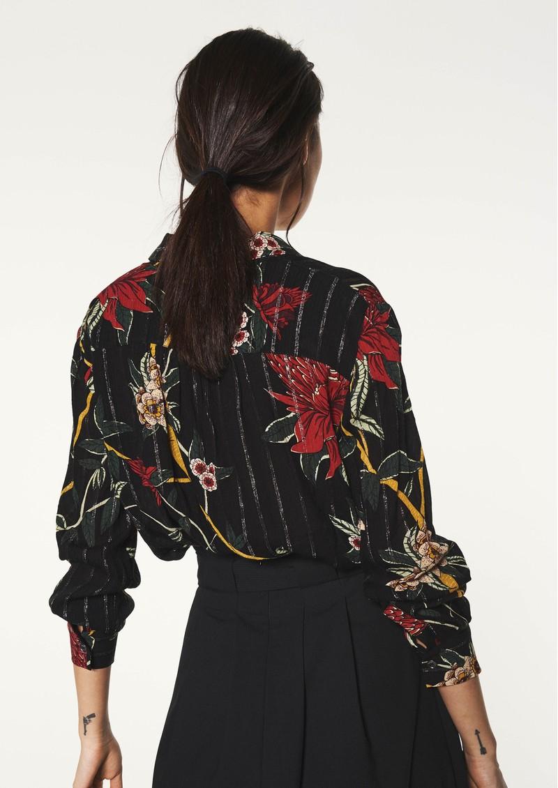 Ba&sh Petunia Shirt - Black main image