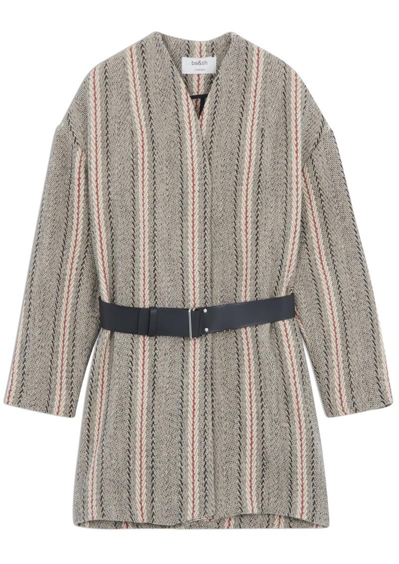 Ba&sh Yumi Coat - Nutmeg main image