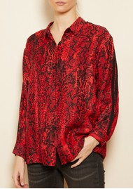 Ba&sh Susie Shirt - Red