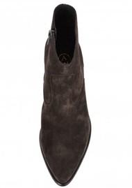 Ash Heidi Bis Suede Boots - Wood Ash