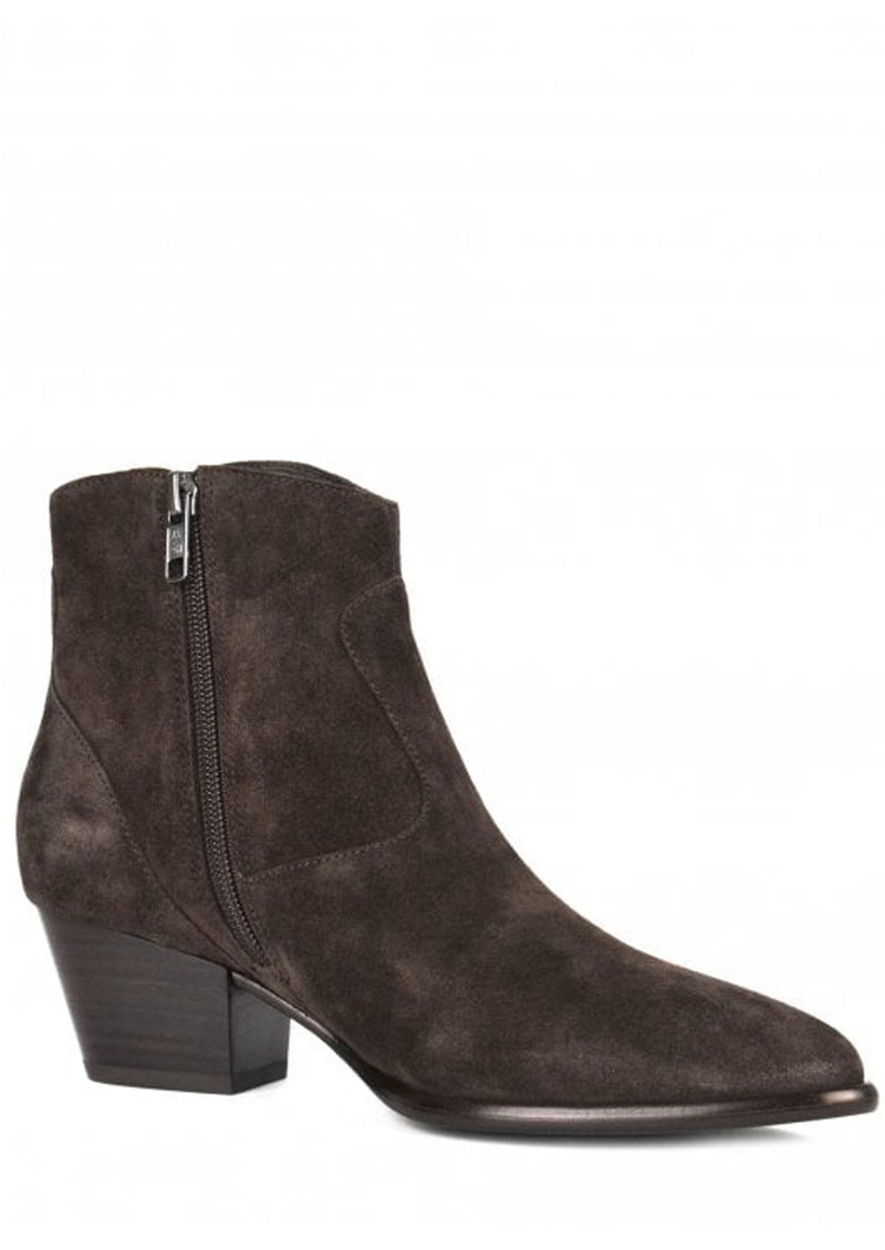 Ash Heidi Bis Suede Boots - Wood Ash main image