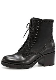Ash Xin Mustang Biker Boots - Antic Black