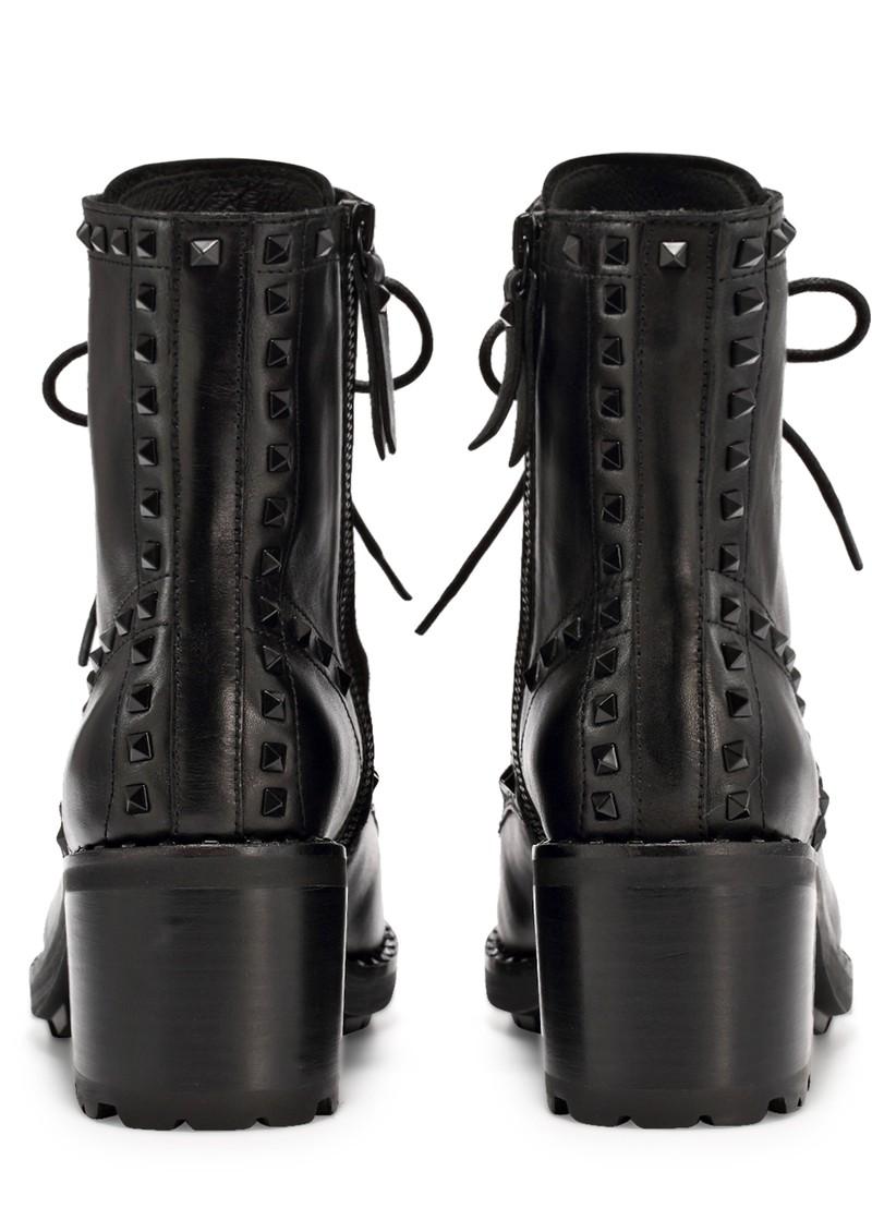 Ash Xin Mustang Biker Boots - Antic Black  main image