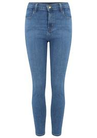 J Brand Alana High Rise Crop Skinny Jeans - Diviner