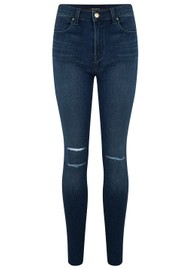 J Brand Maria High Rise Skinny Jeans - Fix Destruct