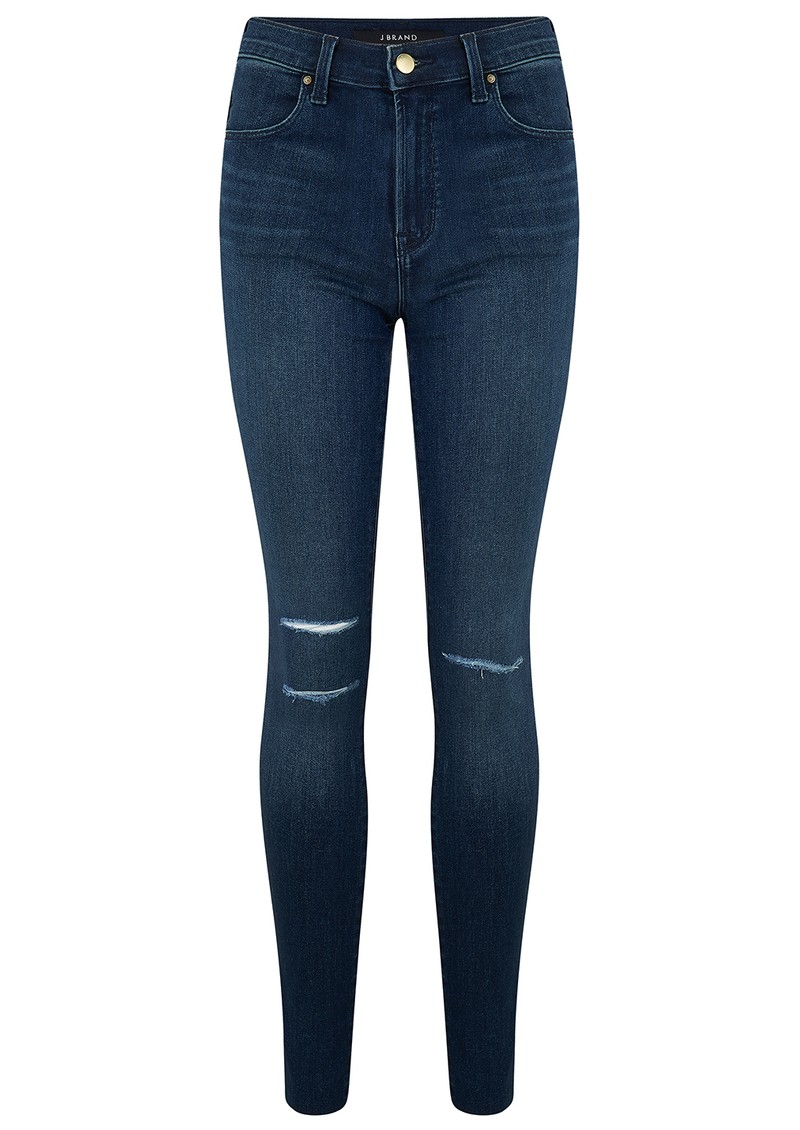 J Brand Maria High Rise Skinny Jeans - Fix Destruct main image