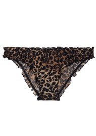 LOVE STORIES Lolita Lace Brief - Leopard